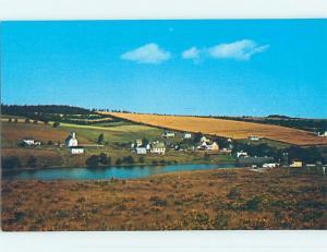 Unused Pre-1980 TOWN VIEW SCENE New Glasgow Prince Edward Island PE p8163