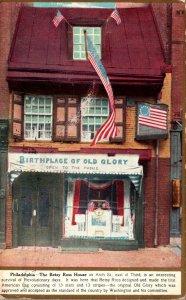 Pennsylvania Philadelphia Betsy Ross House 1913