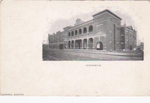 Auditorium , TOPEKA , Kansas , 1901-07