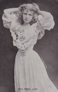 ACTRESS , Miss Mabel Love , 1905 ; TUCK S 1292