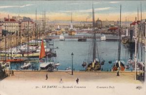 LE HAVRE, Seine Maritime, France, 1900-1910's; Bassin Du Commerce, Commerce D...