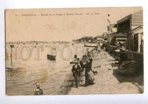172404 FRANCE ARCACHON Bords de Plage Hotel Vintage postcard