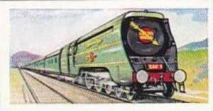 Morning Foods Trade Card World Locomotives No 1 Famous Golden Arrow