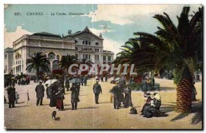 Old Postcard Cannes Municipal Casino
