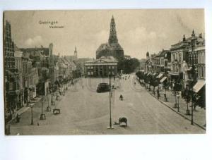 138272 Netherlands GRONINGEN Vischmarkt & MODES Signboard OLD