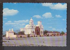 San Xavier Mission Tucson AZ Postcard BIN