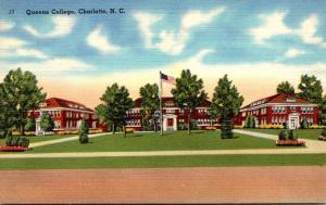North Carolina Charlotte Queens College