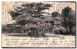 Nimes - Fountain Gardens - Old Postcard