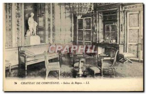 Old Postcard Compiegne Chateau Repos Show