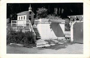 RPPC Pleasure Valley Kodak Real Photo Wedding Chapel Church Postcard