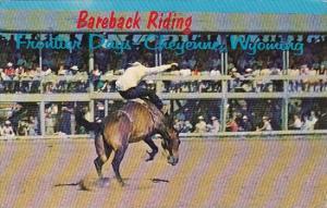 Wyoming Cheyenne Bareback Riding Frontier Days 1966