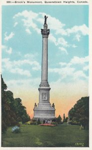 QUEENSTOWN HEIGHTS, Ontario, Canada, 1910-20s; Brock's Monument