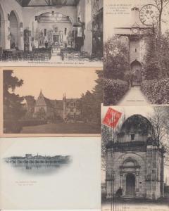 INDRE-ET LOIRE (DEP.37) CENTRE 492 Cartes Postales 1900-1940