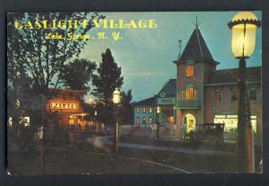 Classic Lake George, New York/NY Postcard, Gaslight Village
