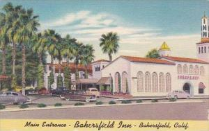 California Bakersfield Main Entrance Bakersfield Inn
