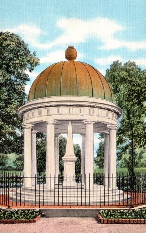 Tennessee Nashville The Hermitage Tomb Of General Andrew Jackson