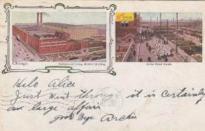 CHICAGO, Illinois,1906; Factories of Libby, McNeill & Libby, & Union Stock Yards