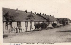 Military WW1Camp de Thuillots les Baraquements 01.37