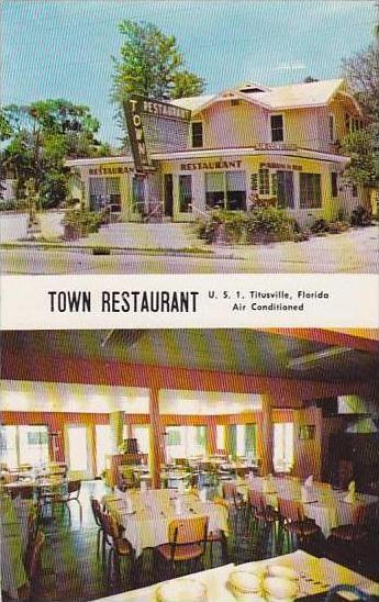 Florida Titusville Town Restaurant