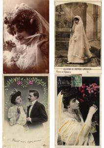 WEDDING DRESSES ROBE DE MARIÉE  MODE FASHION 100 CPA