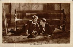 CPA AK PAT and PATACHON. Ross Verlag 3284/4 Film Star (601719)