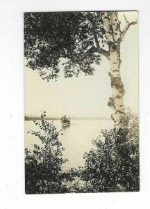 RPPC AZO 1918 to 1930, Long Lake, Bridgton, Maine. ?