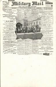 Newspaper Postcard, Brisitsh Military Mail and Volunteer Review of 1902