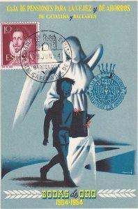Spain , Bodas de Oro 1904-1954 #2