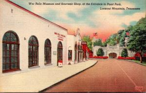 Tennessee Lookout Mountain War Relic Museum and Souvenir Shop At Entrance To ...