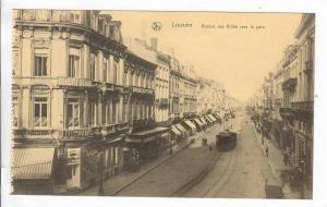 Leuven/Louvain, Belgium, 00-10s  Avenue des Allies vers la gare