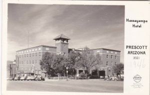 Arizona Prescott Hassayampa Hotel Real Photo sk5170