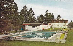 Swimming Pool,  Hotel Fontainebleau,  St-Roch de Mekinac,  Quebec,  Canada,  ...