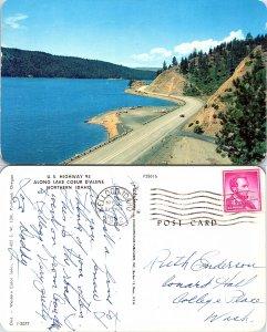 U.S. Highway 95 Along Lake Coeur d' Alene, Idaho