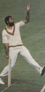 Andy Roberts Worlds Greatest Cricketer Rare Photo Collectors Cigarette Card
