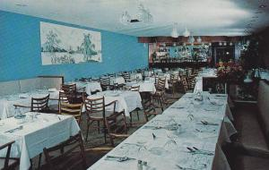 Interior View, Dining Room of Park View Lounge and Restaurant, Montreal, Cana...