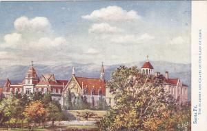 TUCK #2395; SANTA FE, New Mexico, 1900-10s; The Academy & Chapel