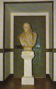 Virginia Jamestown Patrick Henry Bust