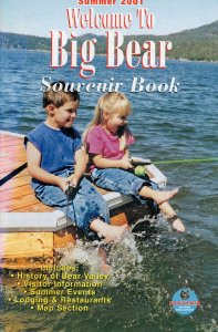 Welcome To Big Bear Island Lake Movies History Map Guide Book