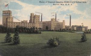 RACINE, Wisconsin; Home of Original-Genuine Horlick's Malted Milk, 1900-10s