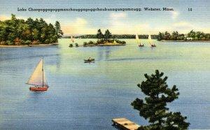 MA - Webster. Lake Chargoggagoggmanchauggagoggchaubunagungamaugg