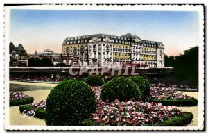 Modern Postcard Deauville La Plage Fleurie The Royal Hotel and gardens