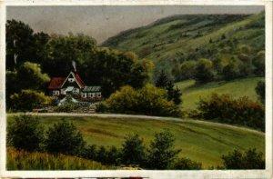 CPA AK Restauration und Cafe Reichenbachtal GERMANY (1000766)