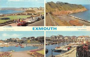 Exmouth, Cliff Walk and Orcombe Point The Harbour The Esplanade Cars Voitures