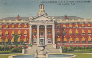 WASHINGTON , D.C. , 30-40s ; W.R.G.H. Army Medical Center, Entrance
