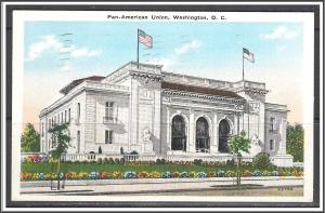 Washington DC Pan-American Union - [DC-081]