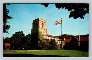 Windsor Ontario- Canada, St Mary's Anglican Church, Chrome Postcard