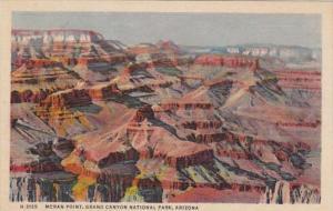 Arizona Grand Canyon Moran Point Fred Harvey