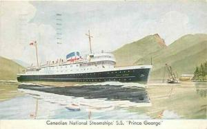 Canadian National Steamships, S.S. Prince George