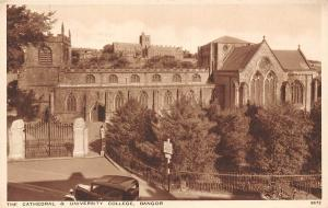 The Cathedral and University College Vintage Car Bangor