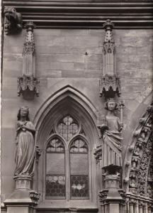 Switzerland Basel Muenster Kaiser Heinrich II und seine Gemahlin Kunigunde Photo